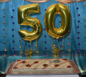 The giant cake to celebrate 50 years of Lions in the South of England