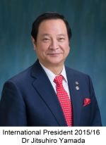 Immediate Past International President Dr Jitsuhiro Yamada