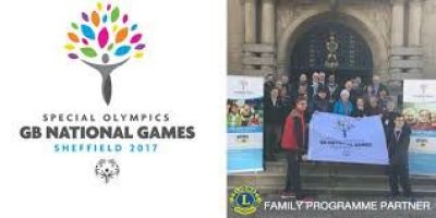 The Lions Familes Special Olympics Great Britain