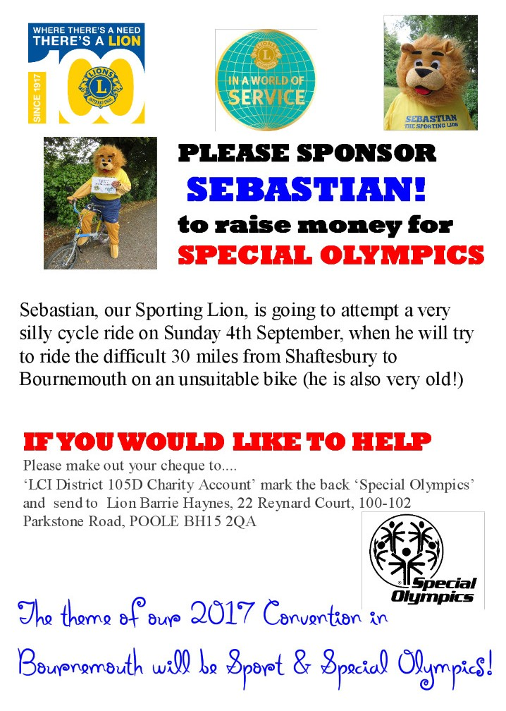 Sebastian Cycle Ride Poster