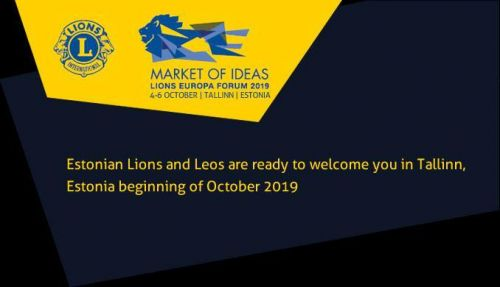60366be512a The 65th Europa Forum will be held in Tallinn on 3rd to 6th October 2019.  It will be hosted by our colleagues in District 120 Estonia, at the Alexela  ...